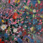 Paula Nightingale Multi coloured Flowers mac