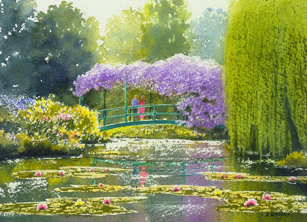 The Japanese Bridge Giverny